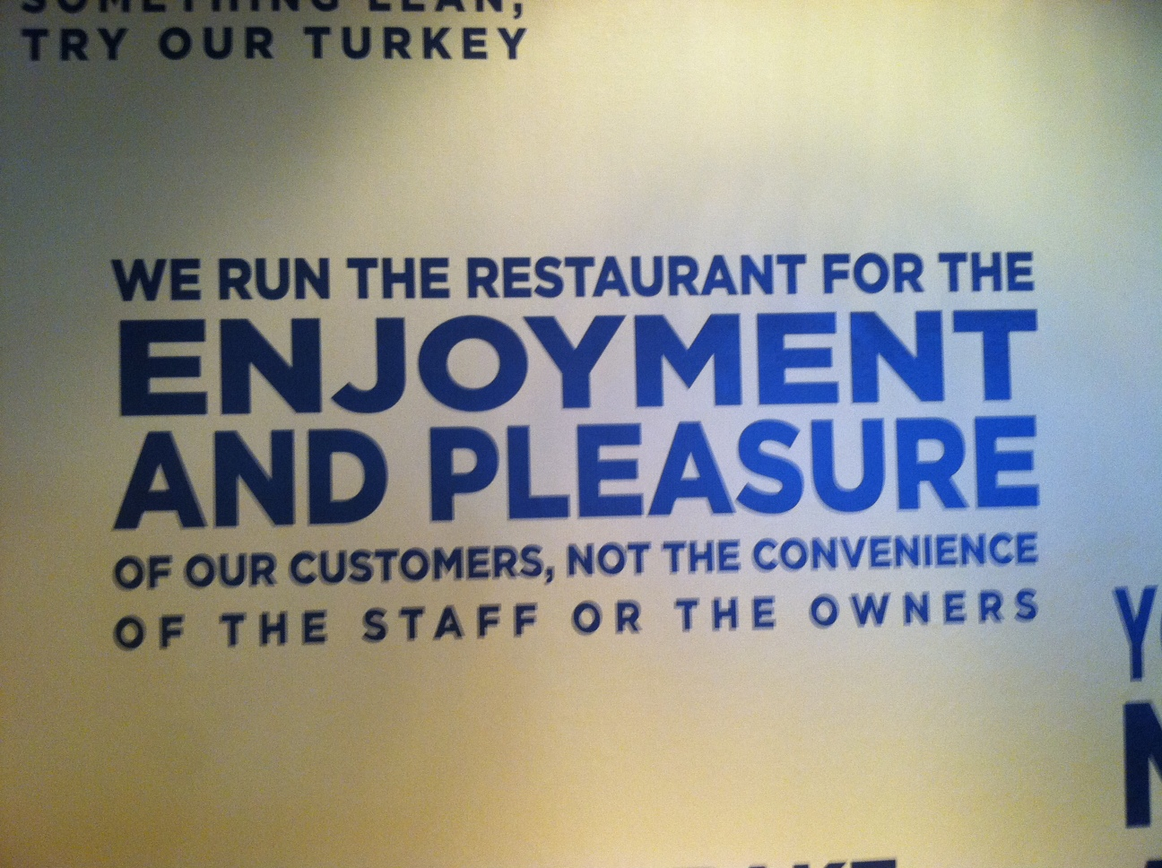 Customer Experience Food for Thought